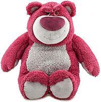 Плюшевый медведь Лотсо.