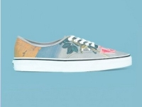 Opening Ceremony & Magritte. The Blow to the Heart Vans Canvas Sneakers.